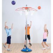 Quad Hoop Basketball Goals