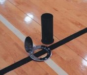 Volleyball Floor Plates/Ground Sleeves for 7.6cm Systems