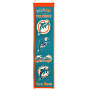 NFL Heritage Banner, Miami Dolphins