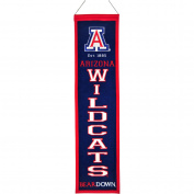 Arizona Wildcats Official NCAA 20cm x 80cm Heritage Banner Flag