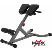 X-Mark Commercial 45 Degree Ab Back Hyperextension Roman Chair