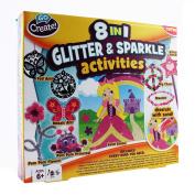 Go Create 20.3cm -1 Glitter and Sparkle Activities