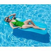 Spongex Deluxe Cool Pool Float, 182.9cm x 4.4cm , Aqua