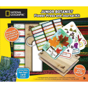 National Geographic Flower Press And Journal Kit