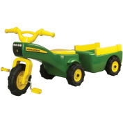 John Deere Pedal Tractor and Waggon