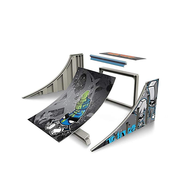 Spinmaster Tech Deck Build A Ramp Playset Quarter Pipe