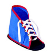 Childrens Factory Lacing Shoe with Sole