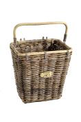 Nantucket Bike Basket Company Tuckernuck Collection Pannier Basket with Hooks