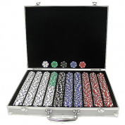 Trademark Poker 1000 Landmark Casino 11.5g Poker Chips With Aluminium Case
