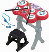 Little Virtuoso Beat Boppers Drumset, Red