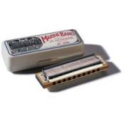 Hohner Marine Band Harmonica in Chrome - Key of C