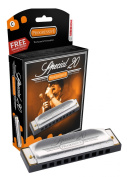 Hohner Special 20 Harmonica in Chrome - Key of C