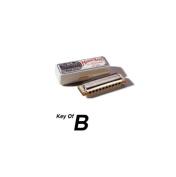 Hohner Marine Band 10 Hole Harmonica in Chrome - Key of B