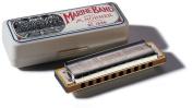 Hohner Marine Band Harmonica in Chrome - Key of D