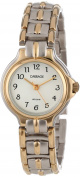 Carriage by Timex Women's White Dial Two-Tone Jewellery Bracelet Watch