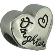 Connexions from Hallmark Stainless Steel Mother/Daughter Charm