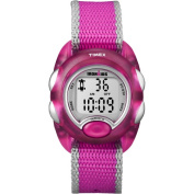 Timex Kids' T7B9809J IronKids Translucent Pink Resin Strap Watch
