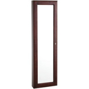 Vista Wall Mount Jewellery Armoire, Cherry