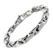 Stainless Steel Mariner Link Bracelet, 22.9cm