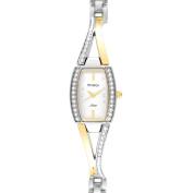 Armitron Women's Gold-Tone Crystal Dress Watch