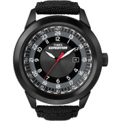 Timex Men's Expedition Military Classic Black Watch, Black Nylon Strap