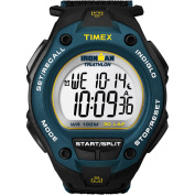 Timex Men's Ironman 30-Lap Oversize Watch, Black Nylon Strap