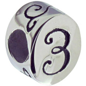 Connexions from Hallmark Stainless Steel Number 3 Bead