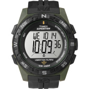 Timex Men's Expedition Rugged Digital Compass Watch, Black Resin Strap