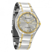 Armitron Men's Two-Tone Round Dial Dress Watch