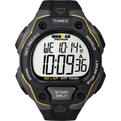 Timex Men's Ironman 50-Lap Watch, Black Resin Strap