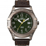 Timex Men's Expedition Trail Series Field Watch, Brown Leather Strap