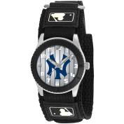 Game Time Rookie Series Watch, New York Yankees, Black