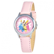 Disney Kid's Princess Time Teacher Watch in Pink Leather