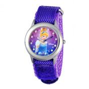 Disney Girl's Glitz Cinderella Time Teacher Watch