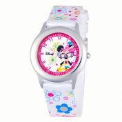 Disney Girl's Minnie Mouse Time Teacher Watch