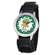 Disney Kid's Muppets Time Teacher hook and loop Watch in Black