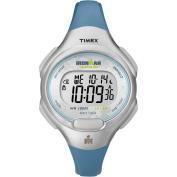 Timex Women's Ironman 10-Lap Watch, Blue Resin Strap