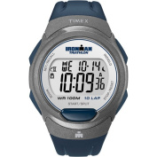 Timex Men's Ironman 10-Lap Watch, Blue Resin Strap