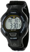 Timex Men's Ironman Traditional 30-Lap Black/Yellow Watch, Fast Wrap Strap