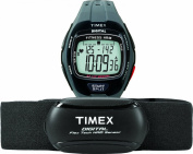 Timex Men's Zone Trainer HRM Grey/Black Resin Watch with Chest Strap Sensor