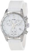 Timex Women's Ameritus Chrono All White Watch, White Strap