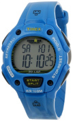 Timex Unisex Ironman Traditional 30-Lap Glimmer Dresden Blue Watch, Resin Strap