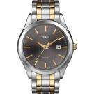 Timex Men's Dress Watch, Two-Tone Stainless-Steel Bracelet