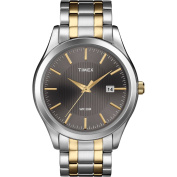 Timex Men's Dress Watch, Two-Tone Stainless-Steel Bracelet