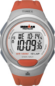 Timex Men's Ironman 10-Lap Watch, Orange Resin Strap