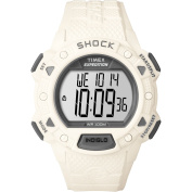 Timex Men's Expedition Shock CAT Watch, White Resin Strap