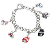 Premium Connection 290-CBTOG Bret Roberts Metal Link Gaming Charm Bracelet
