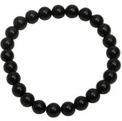 Premium Connection 290-BASB Bret Roberts Black Agate Bracelet