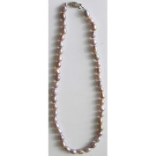 Premium Connection 290-17CPN Bret Roberts Pink Champagne Pearl Necklace