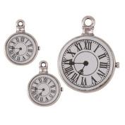 Janlynn Steampunk Clock Charm 2